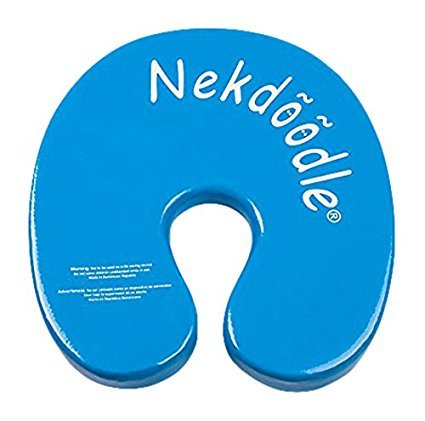 Nekdoodle Swimming Pool Float For Aqua Aerobics & Fitness - Water Training & Exercises - Fun & Recreational Pool Toy - Fits Adults and Kids - Blue