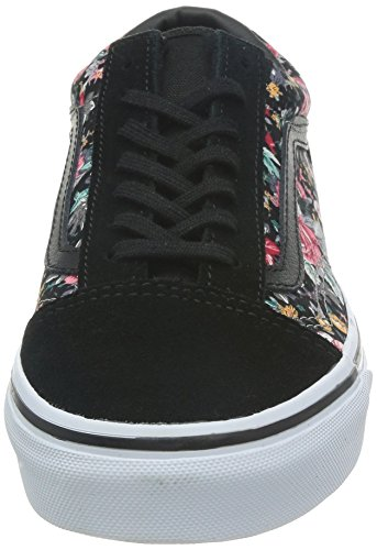 Vans true U Zapatillas black Unisex multi floral Old Skool Adulto rrwdzg