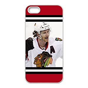 DAZHAHUI NHL Chicago Blackhawks Cell Phone Case for Iphone 5s