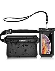 VGUARD Waterdichte Telefoonhoesje Protector Case met Waterproof Mobile Phone Case, Universel Onderwater Hoes voor Watersporten, Strand, Zwemmen, Varen, Vissen, Wandelen, enz.