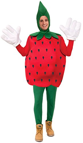 Forum Novelties Strawberry Costume, Red, - Strawberry Halloween Costume
