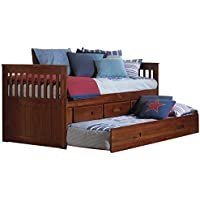 American Furniture Classics 2835-TRM Rake Bed, Twin