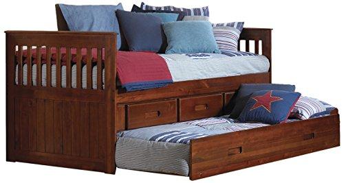 American Furniture Classics 2835-TRM Rake Bed, Twin (Unit Trundle Underbed)