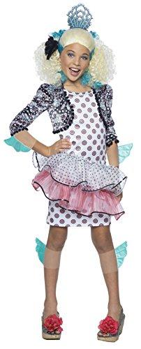 Lagoona Monster High Costume (Rubie's Costume Monster High Exchange Lagoona Blue Child Costume,)