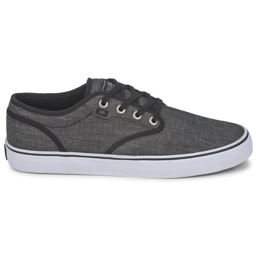 Globe Men's Motley Skate Shoe,Black Chambray,11 M US (Womens Globe Shoes)
