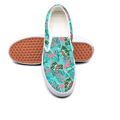 hjkggd fgfds Casual Abstract Flamingo Woman Canvas Shoe Shoes Skate Shoe Canvas B07DQPQCJP Shoes 451f65
