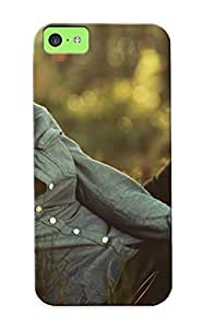 Awesome Bed896b168 Summerlemond Defender Tpu Hard Case Cover For Iphone 6 plus (5.5)- Curly Haired Girl In The Grass