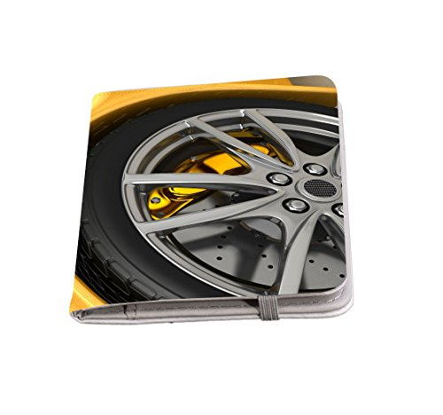 Rikki Knight Wheels With Alloy Rims Passport Holder with slots for Travel documents