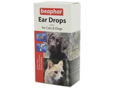 (4 Pack) Beaphar - Ear Drops 15ml