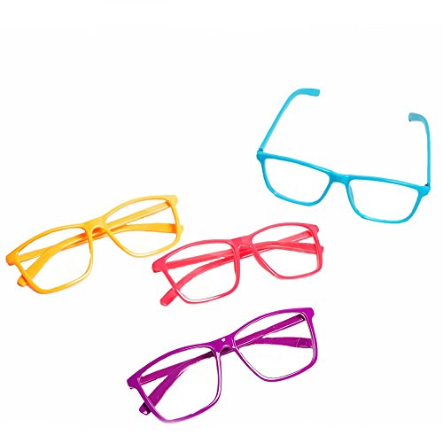 Rhode Island Novelty Neon Nerd Glasses