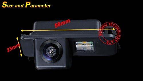 Dynavision Telecamera posteriore Macchina Fotografica di Retrovisione di HD Macchina Fotografica dinversione di Sostegno per FORD Mondeo BA7 ab//FORD Focus II Facelift C//FORD Kuga ab 2008//S-Max ab