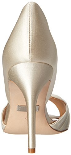 Badgley Womens Ivory Pump DOrsay Musica Mischka R0wxq5Rv