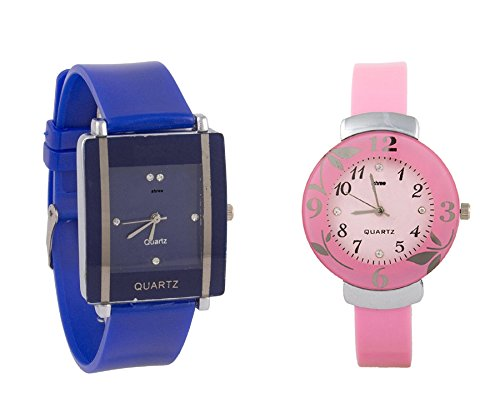 Girl Watch Multicolor Analog Watch For Girls by shree- Pack of 2