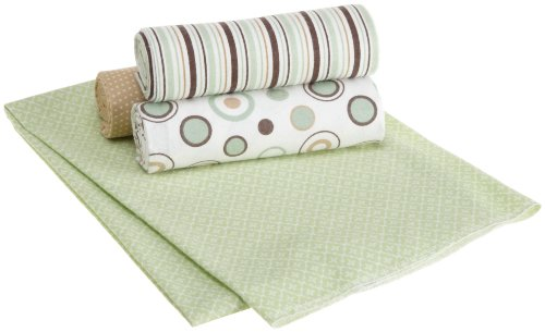 Carter's 'Wrap Me Up' Cotton Flannel Receiving Blankets, Four Pack