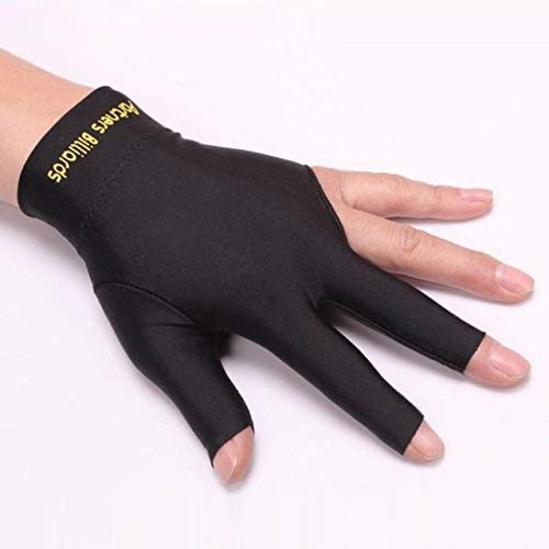 WSDYDST Handschuhe Spezielle Billard DREI-Finger-///Billard Professionelle Anti-Rutsch-Wettbewerb