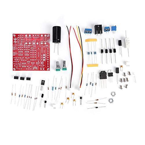 Adjustable DC Power Supply DIY Kit, DC Regulated Power Supply DIY Kit Module Parts Stabilized Continuous Adjustable 0-30V 2mA-3A