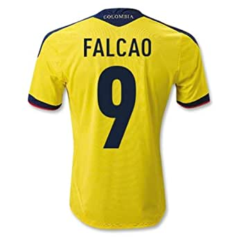 Adidas FALCAO #9 Colombia Home Jersey 2013 (S)