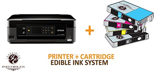 YummyInks Brand YummyInks Brand Epson NX430 Bundled Printing System - includes brand new wireless all-in-one printer and complete set of edible ink cartridges by Absolute