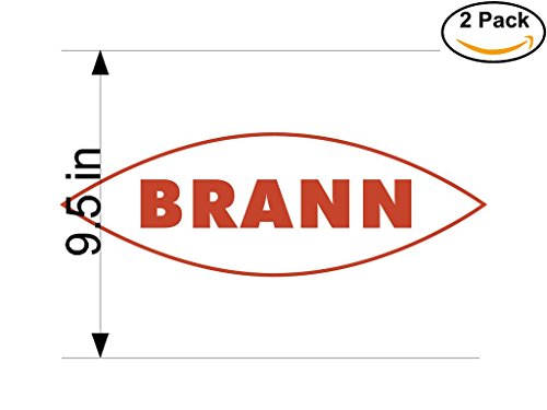 fan products of Brann Norway Soccer Football Club FC 2 Stickers Car Bumper Window Sticker Decal Huge 9.5 inches