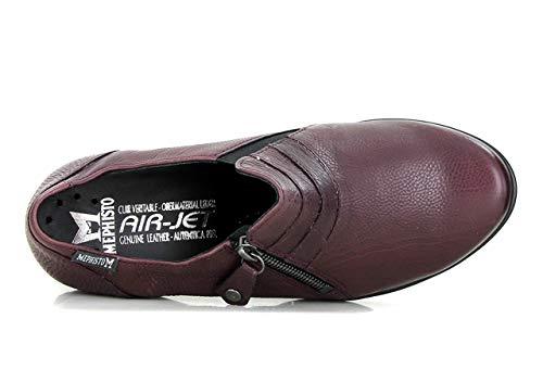 Mephisto Otra Piel Zapatos De Rojo Cordones Mujer vgwRaxrqv