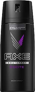 Axe Excite-  Desodorante - 150ml, 3 unidades