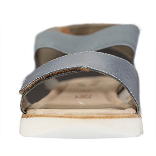 Remonte Damen Sandalen - Blau Schuhe in Übergrößen