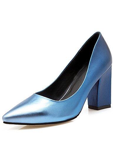 mujer vestido amp; grueso del de azul del de boda noche tac¨®n 5 talones dedo de zapatos cn33 fiesta uk8 5 ZQ uk2 pie eu34 gray 2 punta green 5 4 uk8 eu42 novedad talones us4 en la cn43 de us10 us10 5 eu42 gray 5 qw1BXHEzyP