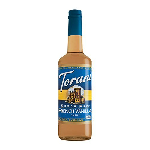 Torani Sugar-Free French Vanilla Syrup, Case of 12 by Torani by Torani