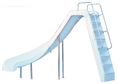 Inter-Fab WRS-CL-SS Pool Slide, Wild Ride, White