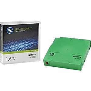 HP C7974A cinta en blanco - Cinta virgen (LTO, 800 GB, 1600 GB, Verde, 16 - 32 °C, 1,265 cm)