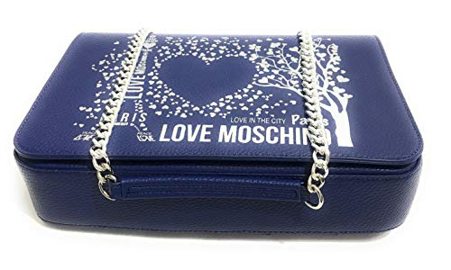 City Borsa Moschino Ecopelle In Bs19mo41 Lovers Tracolla Paris Mod Love Donna Blu Colore xSwOqwfRUY