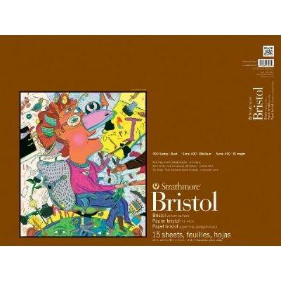 18'' x 24'' 2-Ply Vellum Tape Bound Bristol Pad (Product Catalog: Paper Media, Canvas & Surfaces)