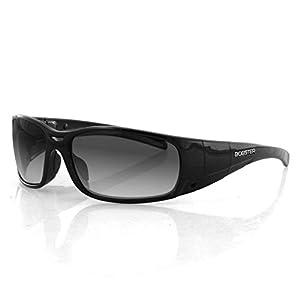 Bobster Eyewear BGUN001, Gunner Convertible, Black Frame, Photochromic / Transition Lenses & Clear Lenses