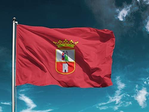 G   Bandera Dos Hermanas   Medidas 150cm x 85cm   Fácil colocación   Decoración Exteriores (1 Unidad): Amazon.es: Hogar