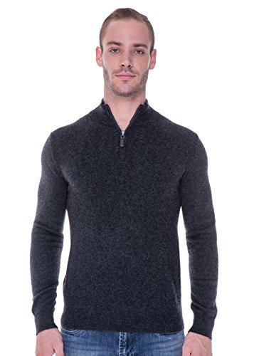 Quarter Zip Cashmere Sweater - 2