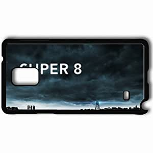 Personalized Samsung Note 4 Cell phone Case/Cover Skin 2011 super 8 movie movies Black