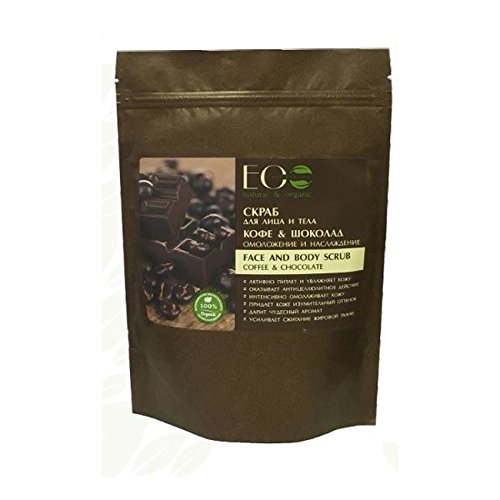 EO Laboratorie Natural Dry Face Body Scrub Coffee & Chocolate Anti-age & Delight 40g ()