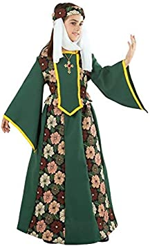 DISBACANAL Disfraz de Princesa Medieval para niña - -, 4 años ...
