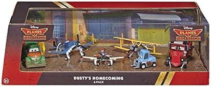 Disney Planes - Dustys Homecoming 6 Pack - Aviones Equipo de Rescate - Chug, Mayday, Skipper, Leadbottom, Dottie y Dusty: Amazon.es: Juguetes y juegos