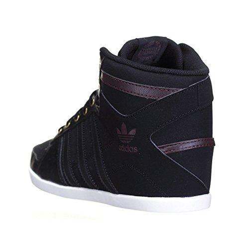 Adidas Originals Plimcana Basketballschuhe / Turnschuhe, knöchelhoch - schwarz