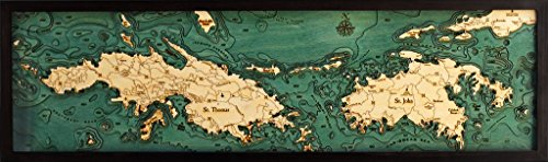 virgin islands nautical chart - 2
