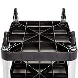 AmazonBasics Service Cart, 20x30, 300 lbs Capacity, 1-pack, Black - RC2030A