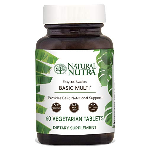 Natural Nutra Multivitamin and Mineral for Women and Men, On
