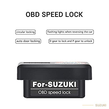 Amazon.com: car auto OBD Speed Lock Device and car Door ...