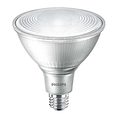 Philips Dimmable 16W 3000K 40° PAR38 LED Bulb, Outdoor and Enclosed Rated