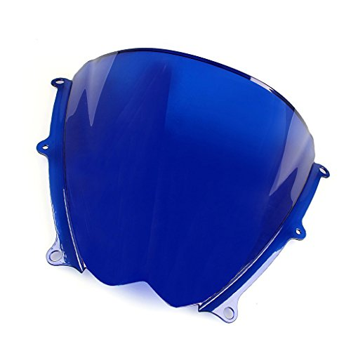 Windshield WindScreen Double Bubble For Suzuki GSXR1000 K7 2007-2008 (Blue)