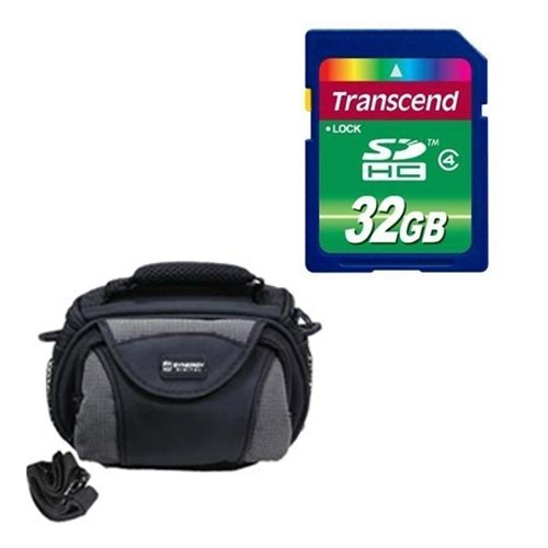 Panasonic HC-V750K Camcorder Accessory Kit includes: SD32GB Memory Card, SDC-26 Case by Synergy Digital
