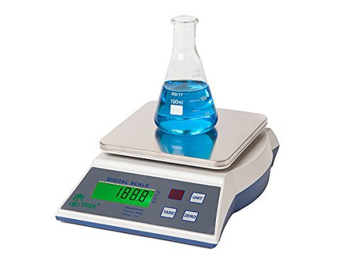 KHR-3001 -- 3000 g x 0,1 g Balanza de precisión económica laboratorio universidades joyería escuelas: Amazon.es: Electrónica