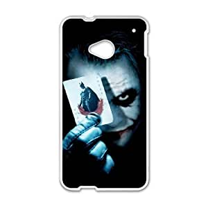 The Joker HTC One M7 Cell Phone Case White Protect your phone BVS_755355