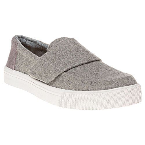 TOMS Altair Slip-On Shoe – Women's Grey Felt / Suede 8